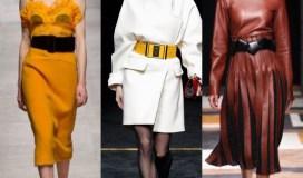 wide belt trend