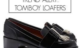 trend alert tomboy loafers