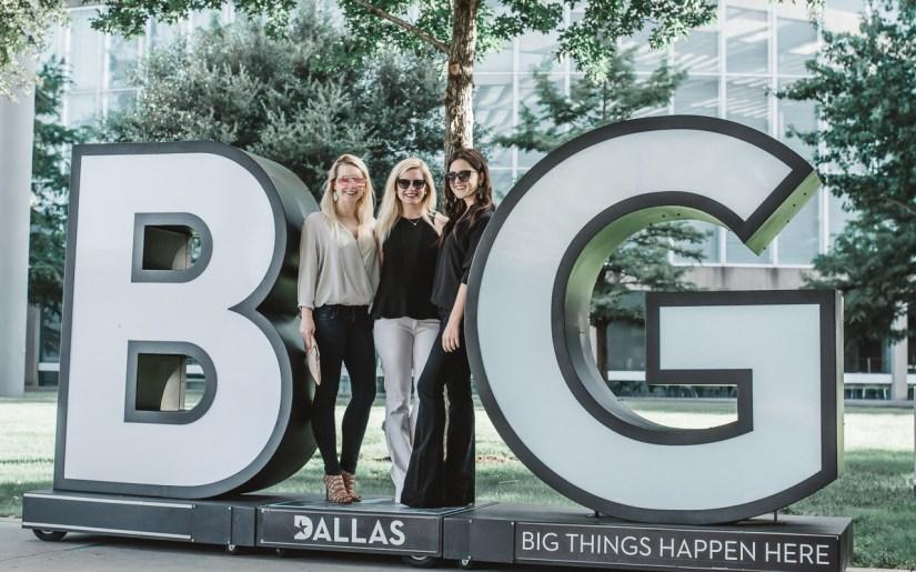Dallas BIG signs What to do in Dallas