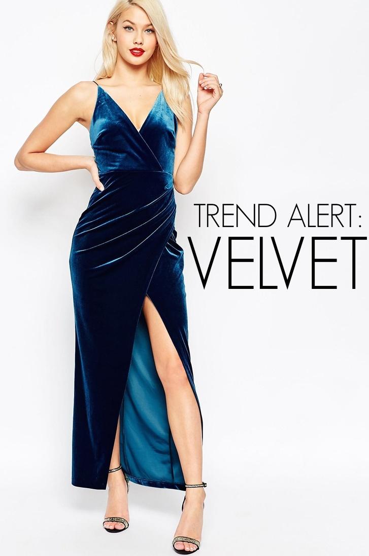 TREND ALERT: Velvet