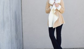 shearling coat and flares-16