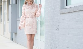 endless rose nude pink dress