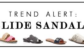 slide sandals trend