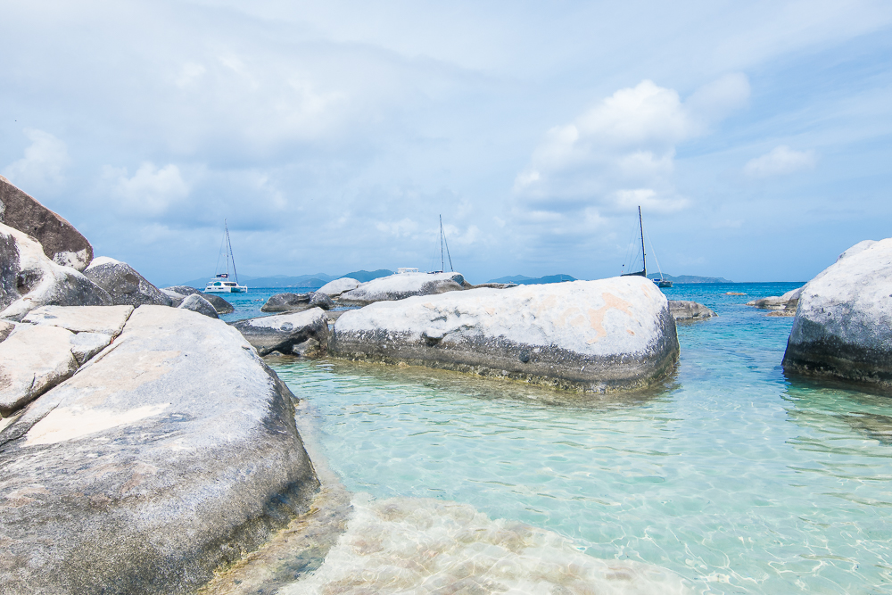 Virgin Gorda Baths BVI water
