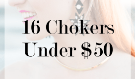 16 chokers under $50