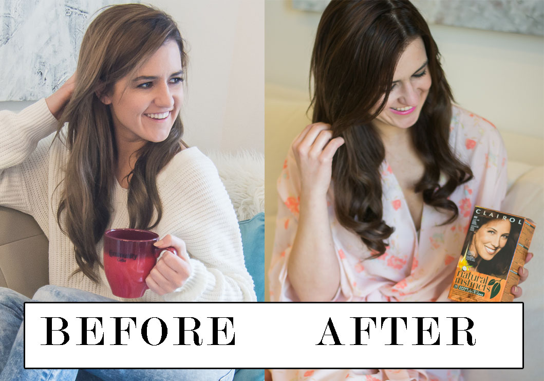 CLAIROL NATURAL INSTINCTS BEFORE AND AFTER Photos