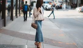 Trend alert denim gaucho jeans