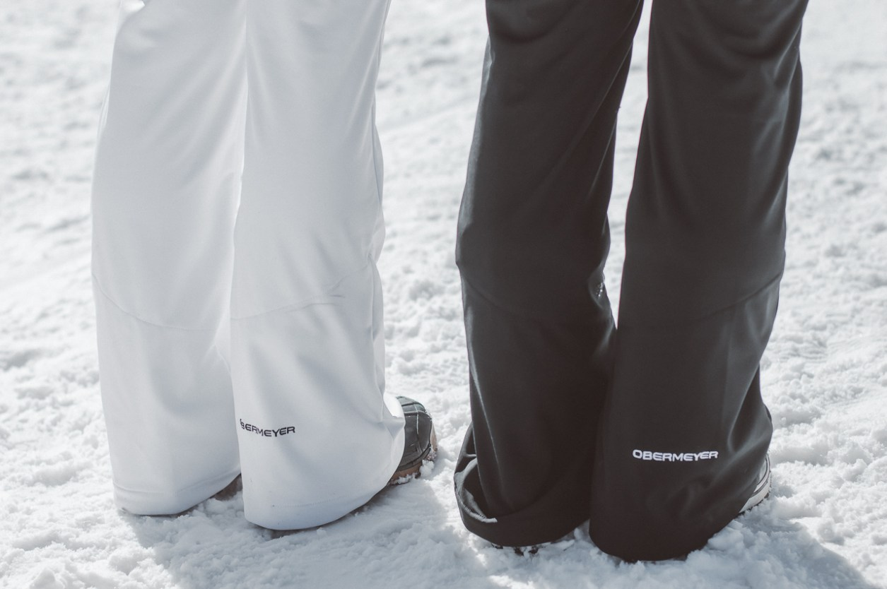 obermeyer tight ski pants