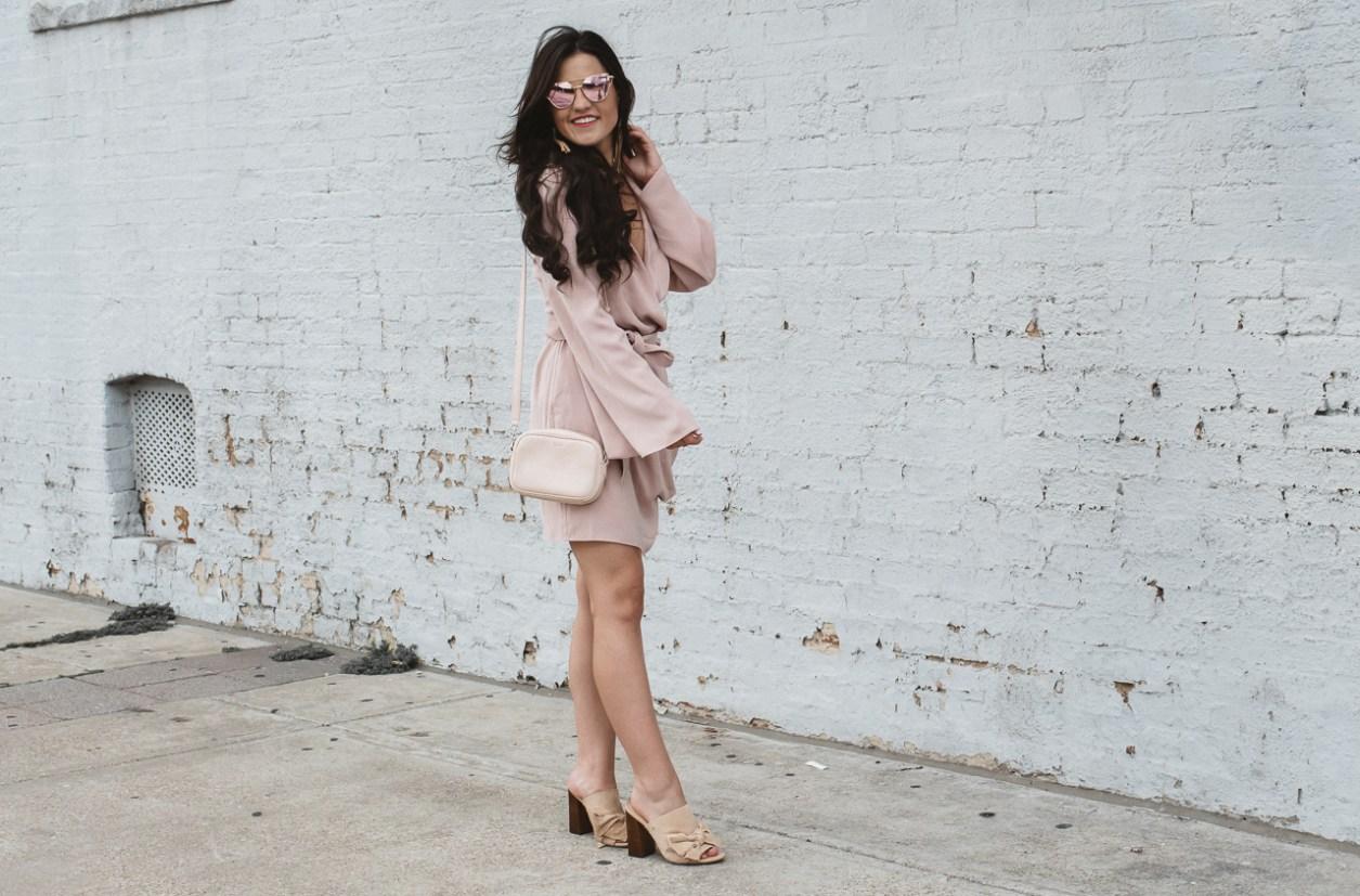 Blush Keepsake Wrap Dress (3 of 26)