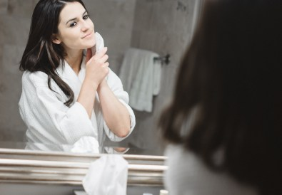 how to layer beauty products _ morning routine