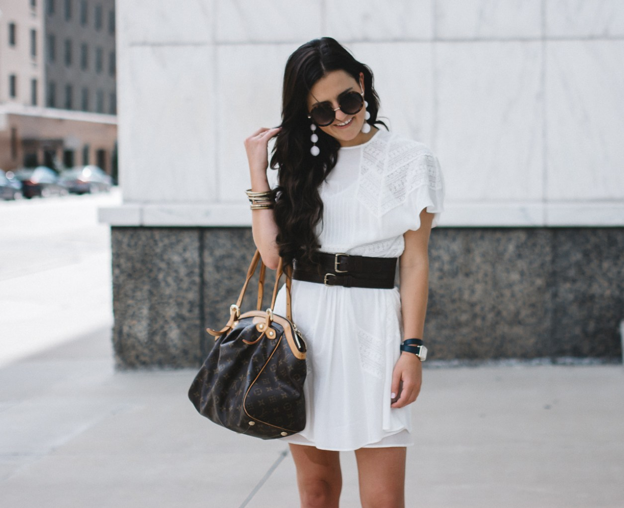 How To Wear A White Dress In Fall (12 of 17)