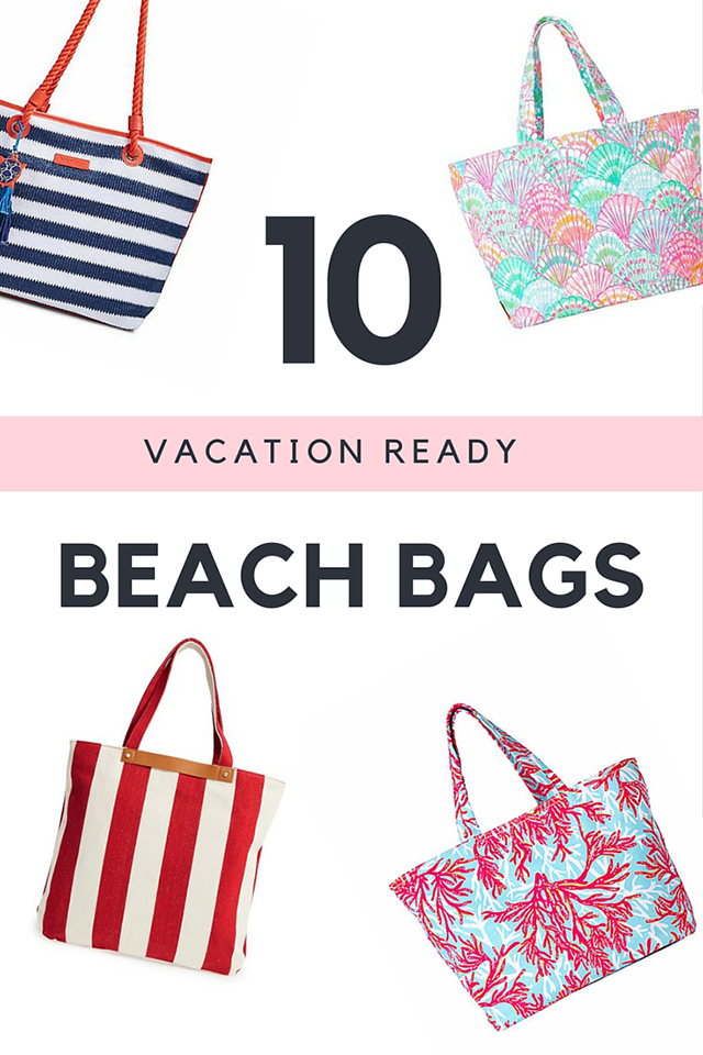 Wearable Wednesday: 10 Vacation Ready Beach Bags