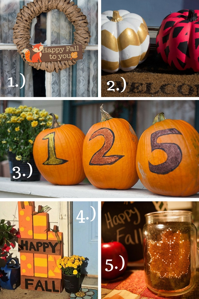 5 Easy Fall DIY Projects
