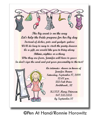 Bachelorette Personalized Party Invitations by The Personal Note