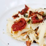Sun-dried Tomato and Basil Pappardelle