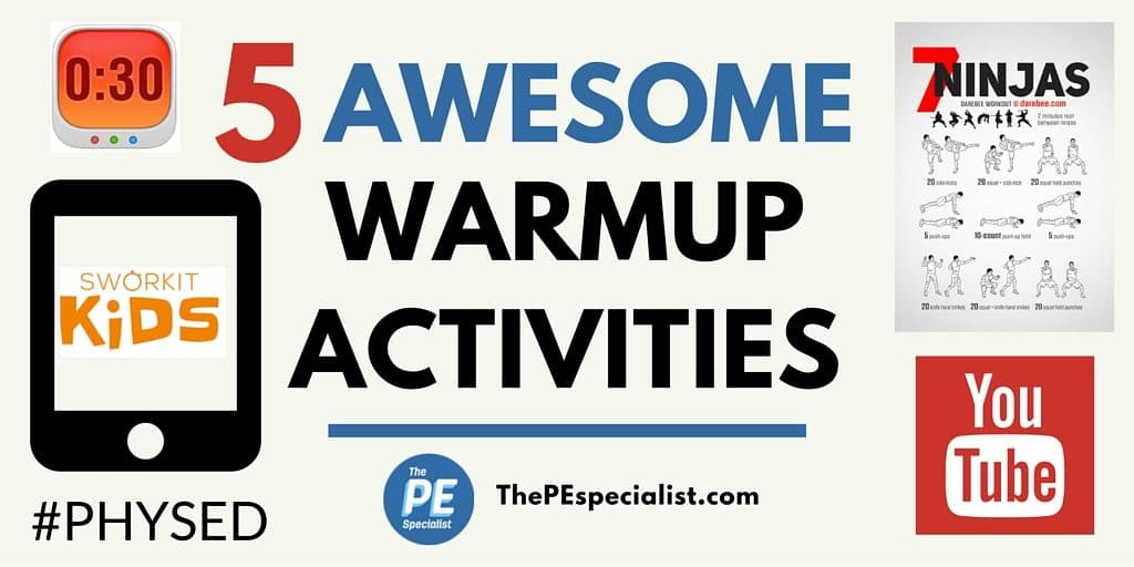 5 Awesome Instant Activities \u2013 Great for PE Class Warmups