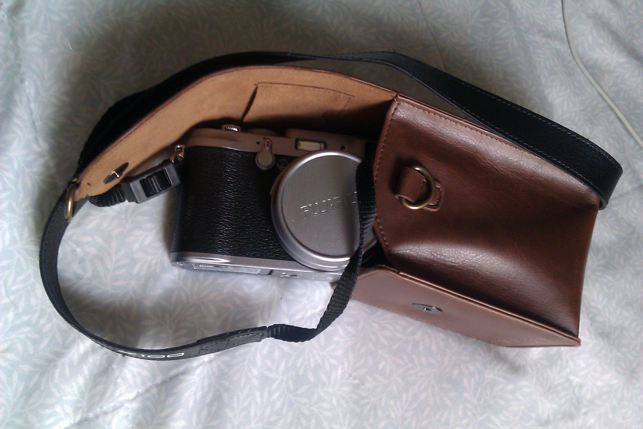 Fuji x100 leather case