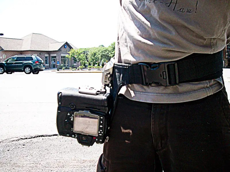 spiderPro Holster in action