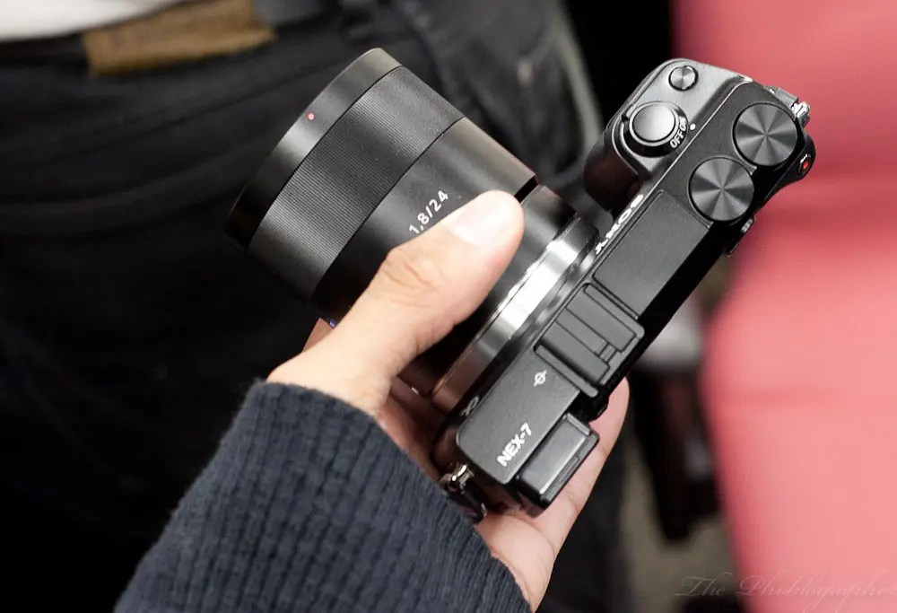 Chris Gampat The Phoblographer hands on sony a77 and nex7 (5 of 7)