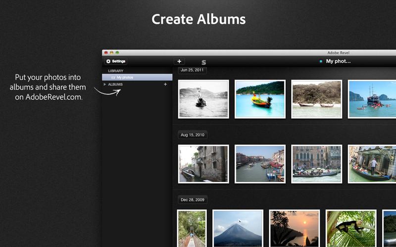 Adobe Revel 1.5