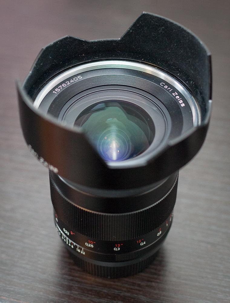 Zeiss Distagon T* 21mm f/2.8 ZE