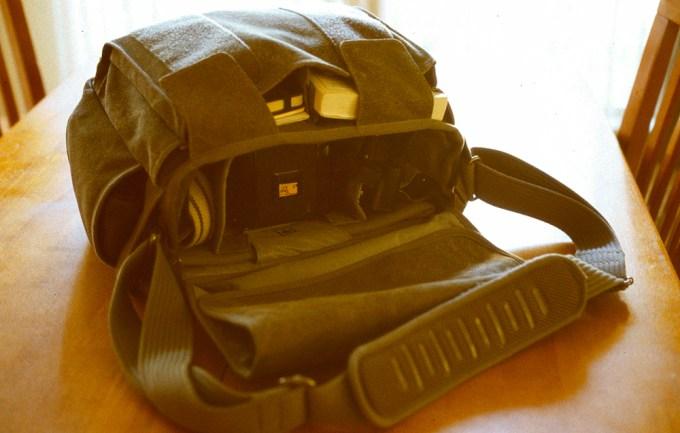 The Think Tank Retrospective 40 Shoulder Bag - Gear Used