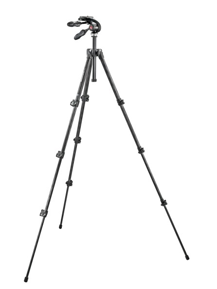 CES 2013 Manfrotoo 290 Ballhead and Tripod