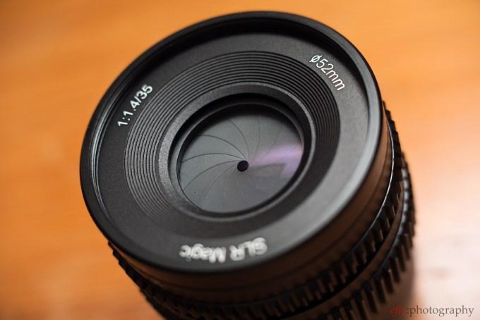Felix Esser The Phoblographer SLR Magic 35mm f/1.4 Aperture