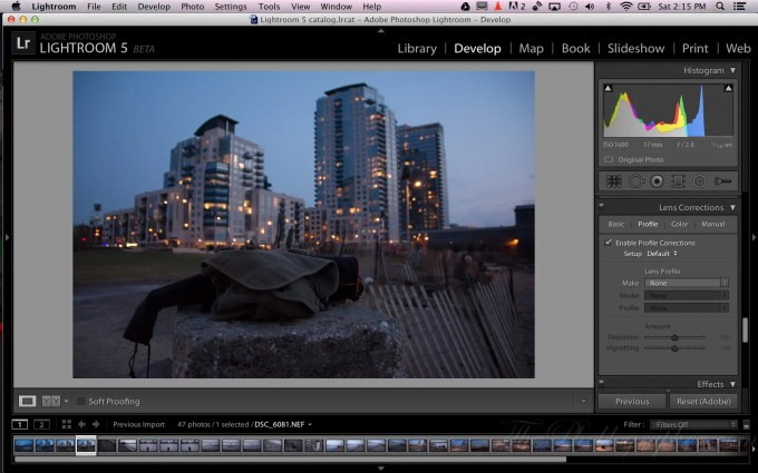 Chris Gampat The Phoblographer Adobe Lightroom 5 beta Upright demo (1 of 4)