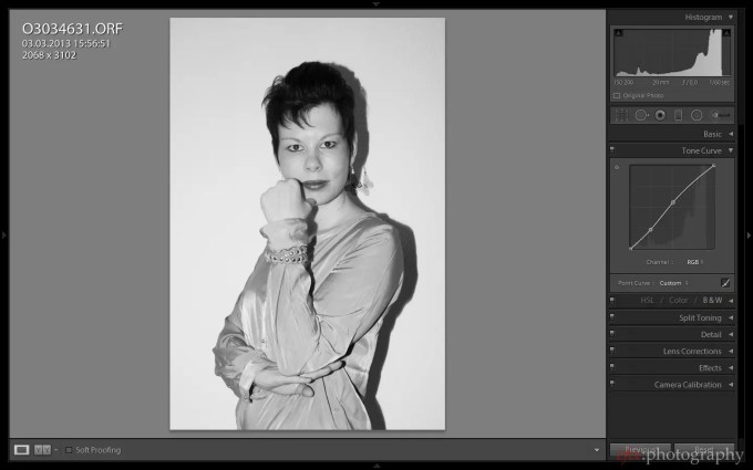 Felix Esser The Phoblographer Lightroom 5 Black and White Conversion Screenshot