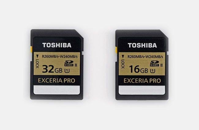 Toshiba-Exceria-Pro-SDHC-card