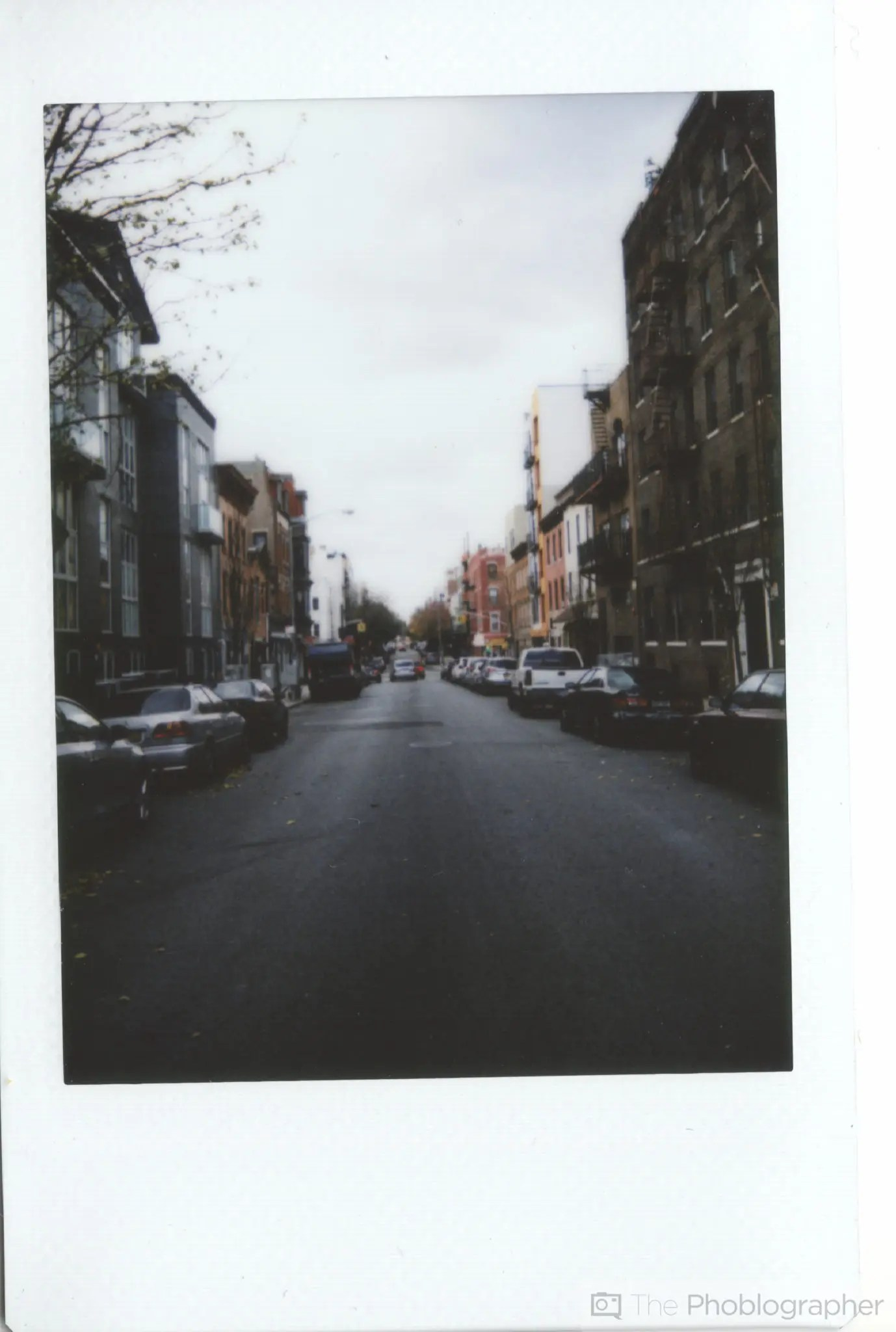 Chris Gampat The Phoblographer Fujifilm Instax Mini 70 scan meserole st (1 of 1)