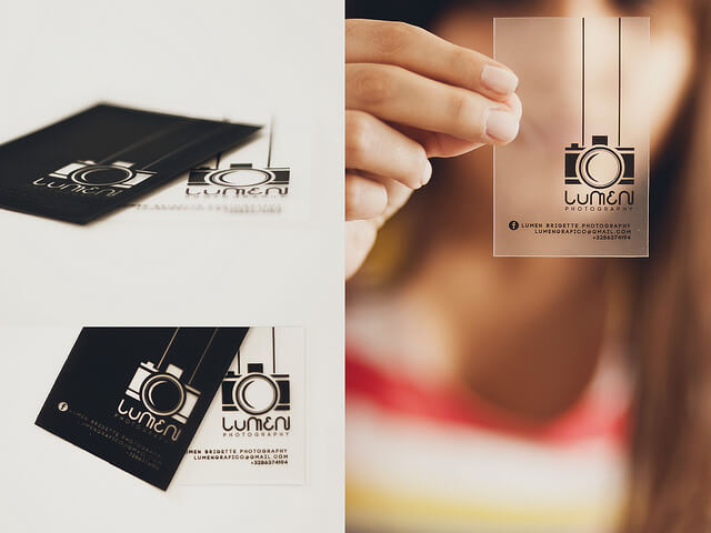 30 Creative Business Card Designs for Photographers - card templates for pographers