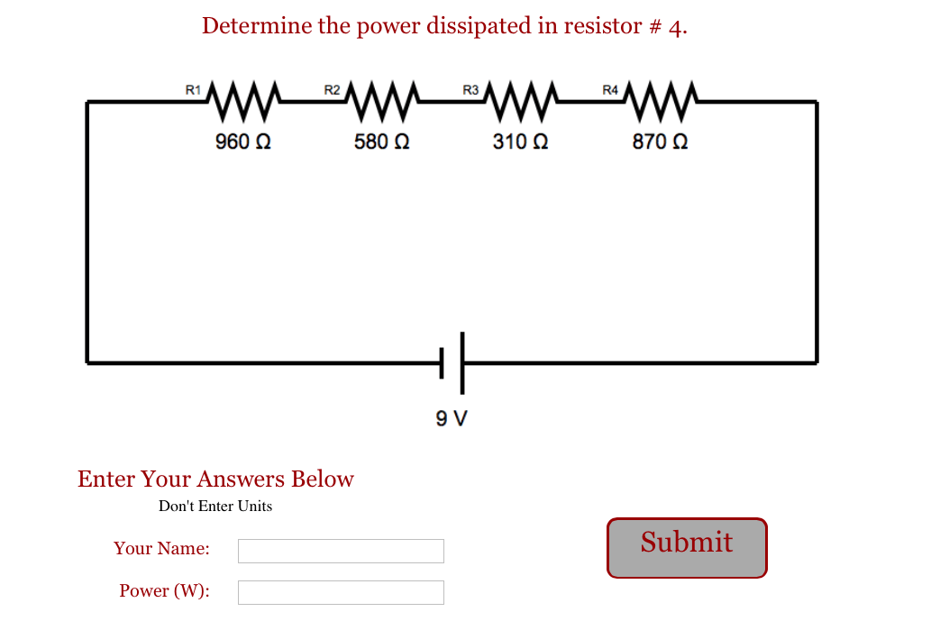 series circuit calculation