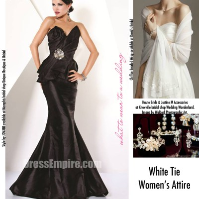 The Ladies' Guide to Wedding Dress Codes - The Pink Bride