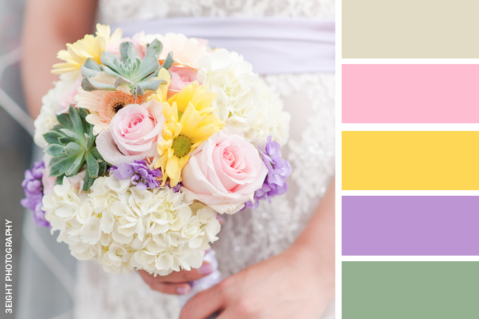 Wedding Color Inspiration Happy + Hopeful Yellow - The Pink Bride