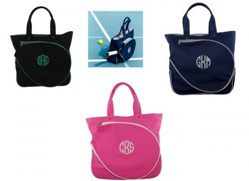 monogram tennis bag