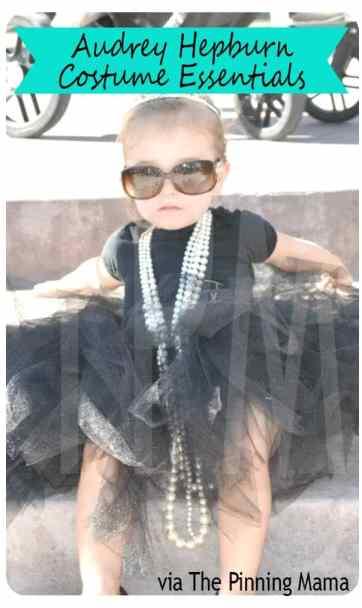 audrey hepburn costume idea www.thepinningmama.com