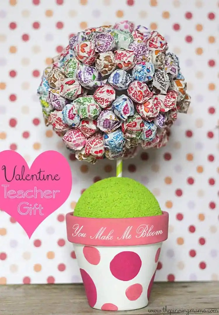 You Make Me Bloom Teacher Valentine by The Pinning Mama