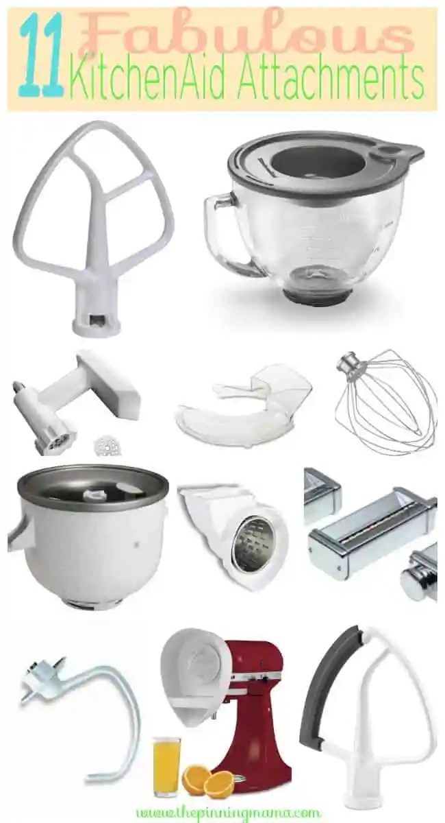 11 Of The Best KitchenAid Mixer Attachements The Pinning