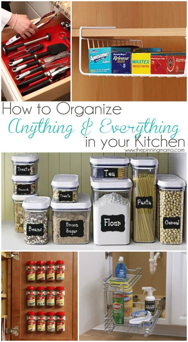 Best Products to Organize Anything  Everything in Your Kitchen