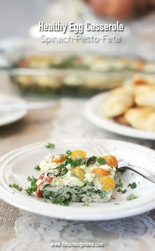 This simple breakfast casserole is so good you will forget it is healthy!