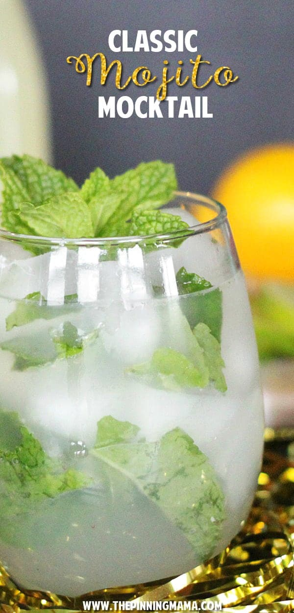 A twist on this classic cocktail recipe turns it into the perfect virgin party drink!