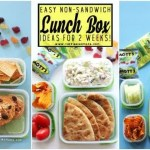 2 Whole weeks of Non-Sandwich - Easy to make - Super fun - Healthy Lunch Box ideas for kids. Forget boring sandwiches, your kids will love eating these lunches at school and I promise, they are all super easy to make!