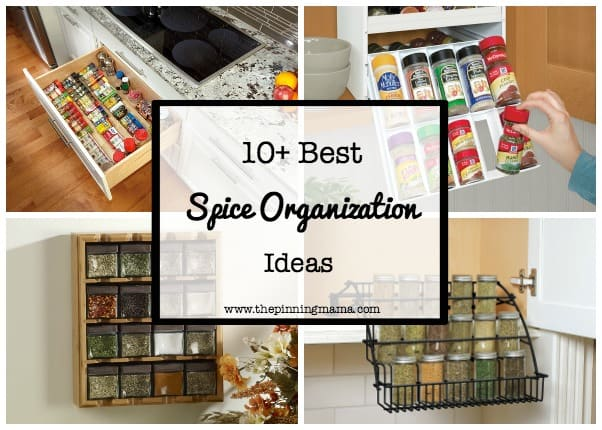 10+ Best Ways to Organize Spices \u2022 The Pinning Mama