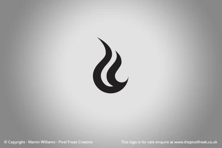 Flame / Fire Logo *For Sale* \u2013 Logo Design Graphic Designer Web - flame logo