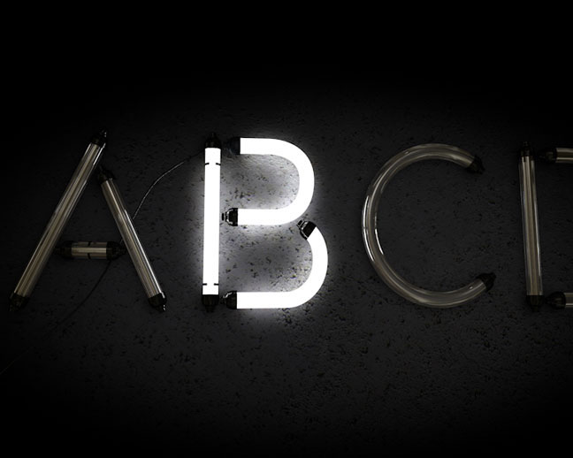 T Letter Wallpaper 3d Free Cinema4d Neon Alphabet Download The Pixel Lab