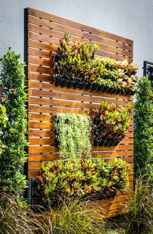 Medium Of Vertical Window Gardens