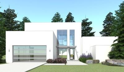 Modern House Plan - 3 Bedrms, 2.5 Baths - 2459 Sq Ft ...
