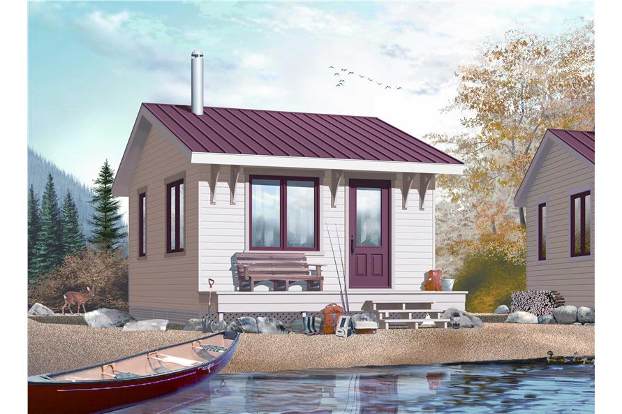 small vacation home plans or tiny house